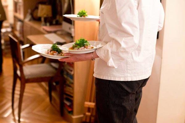 du sur mesure chez vous repas cuisiné dans votre cuisine gastronomie