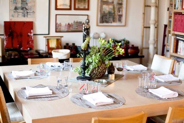 du sur mesure chez vous table de fête gastronomie