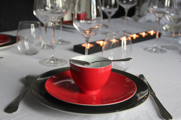 chez vous sur mesure table de fête gastronomie