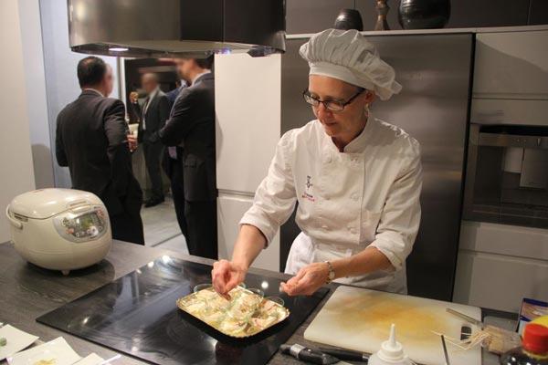 du sur mesure chez vous repas cuisiné dans votre cuisine demonstration de cuisine gastronomie
